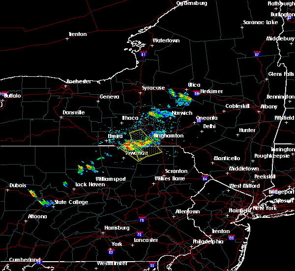 Radar Image for Severe Thunderstorms near Athens, PA at 5/28/2018 4:55 PM EDT