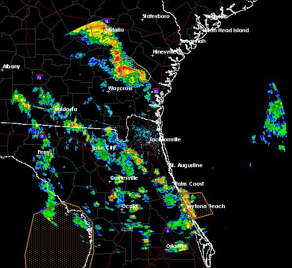 Radar Image for Severe Thunderstorms near Odum, GA at 5/28/2018 5:51 PM EDT
