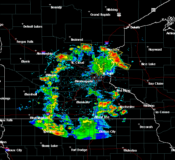 Radar Image for Severe Thunderstorms near Turtle Lake, WI at 5/28/2018 7:25 PM CDT