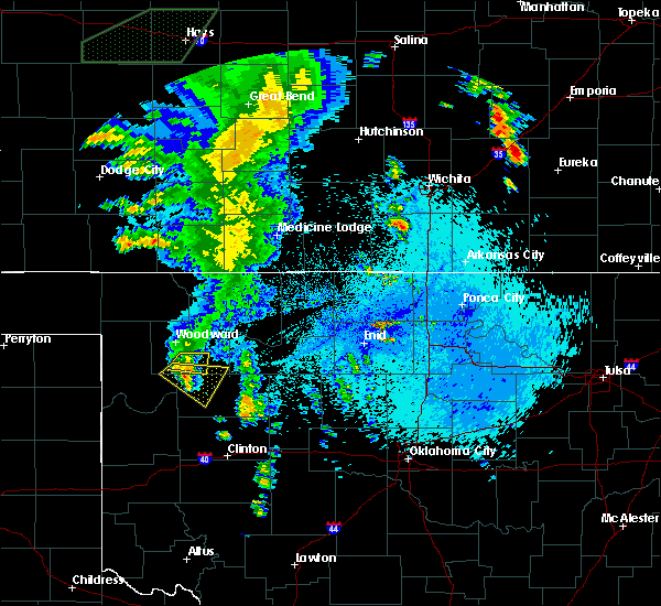 Radar Image for Severe Thunderstorms near Mutual, OK at 5/29/2018 2:04 AM CDT