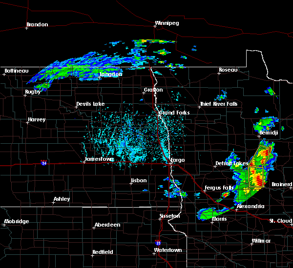 Radar Image for Severe Thunderstorms near Laporte, MN at 5/29/2018 3:25 PM CDT