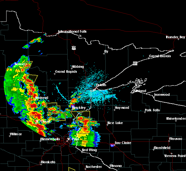 Radar Image for Severe Thunderstorms near Boy River, MN at 5/29/2018 4:27 PM CDT