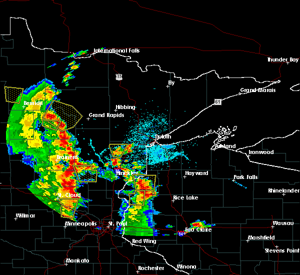 Radar Image for Severe Thunderstorms near Cohasset, MN at 5/29/2018 5:00 PM CDT