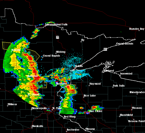 Radar Image for Severe Thunderstorms near Cohasset, MN at 5/29/2018 5:09 PM CDT