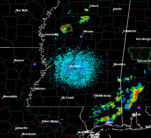 Radar Image for Severe Thunderstorms near Schlater, MS at 5/30/2018 1:22 PM CDT