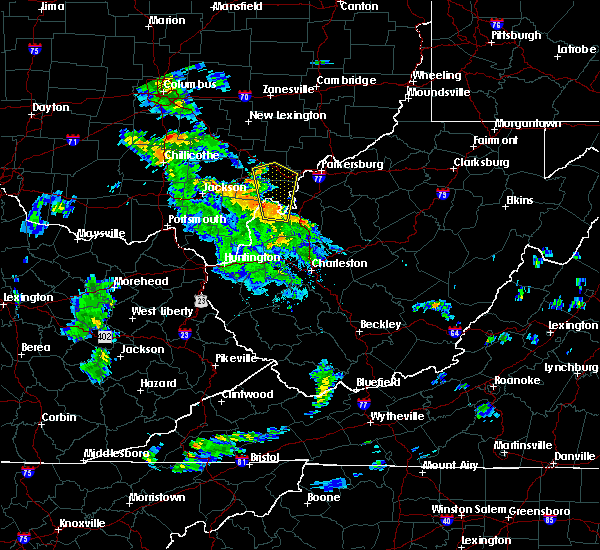 Radar Image for Severe Thunderstorms near Mason, OH at 5/30/2018 5:44 PM EDT