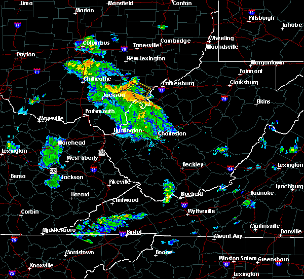 Radar Image for Severe Thunderstorms near Stewart, OH at 5/30/2018 6:01 PM EDT