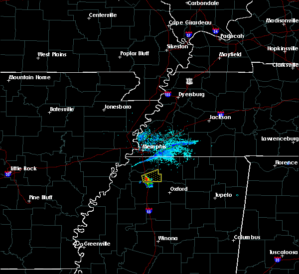 Radar Image for Severe Thunderstorms near Coldwater, MS at 5/30/2018 8:03 PM CDT