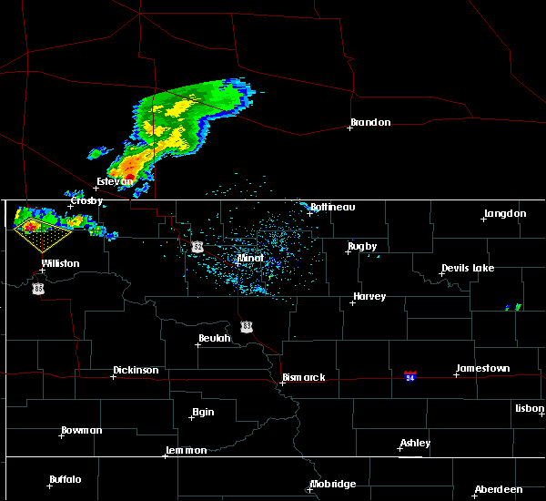 Radar Image for Severe Thunderstorms near Alamo, ND at 5/30/2018 10:08 PM CDT