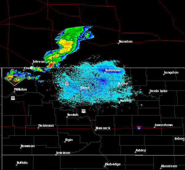 Radar Image for Severe Thunderstorms near Alamo, ND at 5/30/2018 10:48 PM CDT