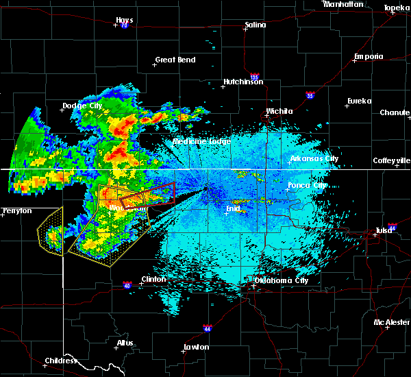 Radar Image for Severe Thunderstorms near Woodward, OK at 5/30/2018 11:16 PM CDT