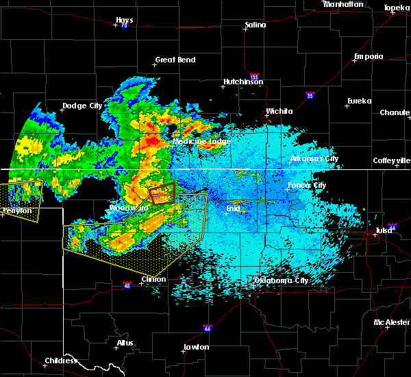 Radar Image for Severe Thunderstorms near Dacoma, OK at 5/30/2018 11:44 PM CDT