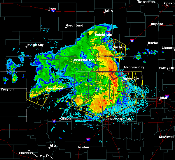 Radar Image for Severe Thunderstorms near Cleveland, OK at 5/31/2018 1:21 AM CDT