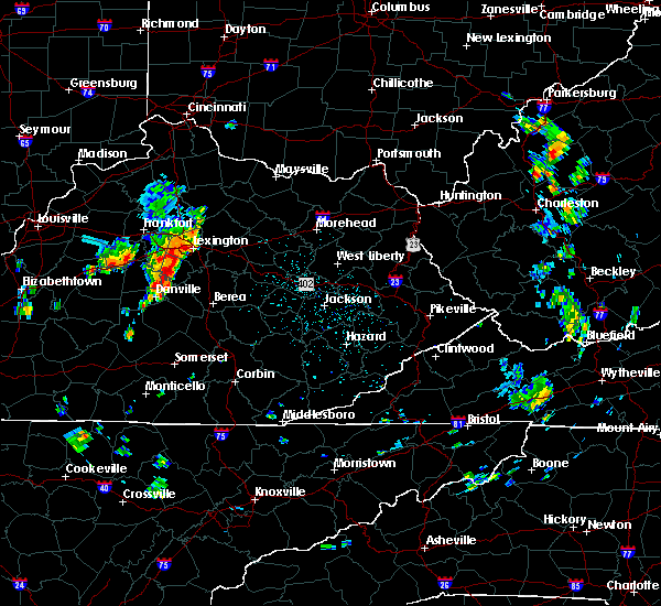 Radar Image for Severe Thunderstorms near Richmond, KY at 5/31/2018 12:06 PM EDT