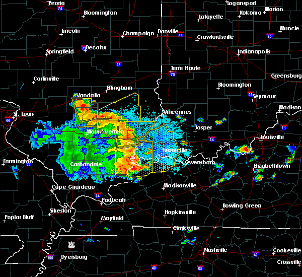 Radar Image for Severe Thunderstorms near Russellville, IL at 5/31/2018 12:11 PM EDT