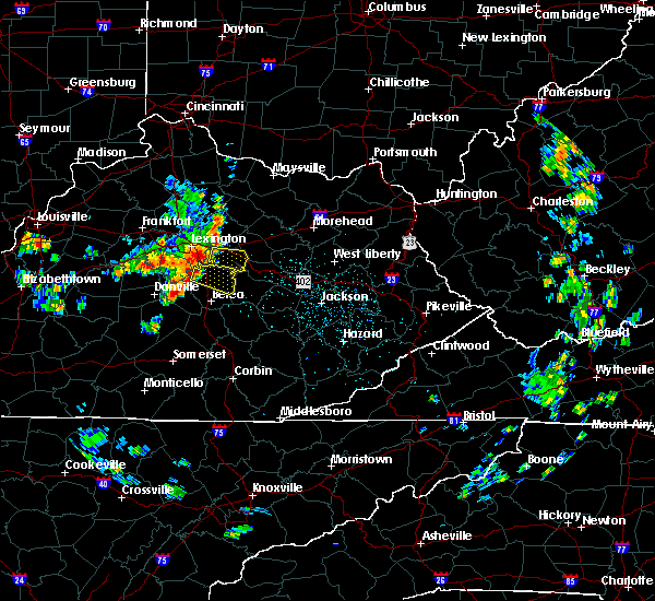 Radar Image for Severe Thunderstorms near Richmond, KY at 5/31/2018 12:33 PM EDT