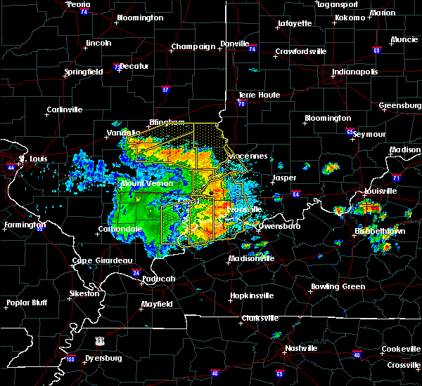 Radar Image for Severe Thunderstorms near Decker, IN at 5/31/2018 12:39 PM EDT
