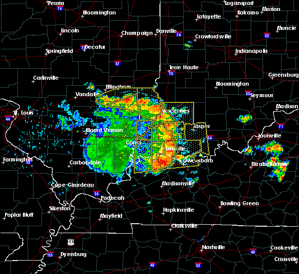 Radar Image for Severe Thunderstorms near Jasper, IN at 5/31/2018 12:57 PM EDT