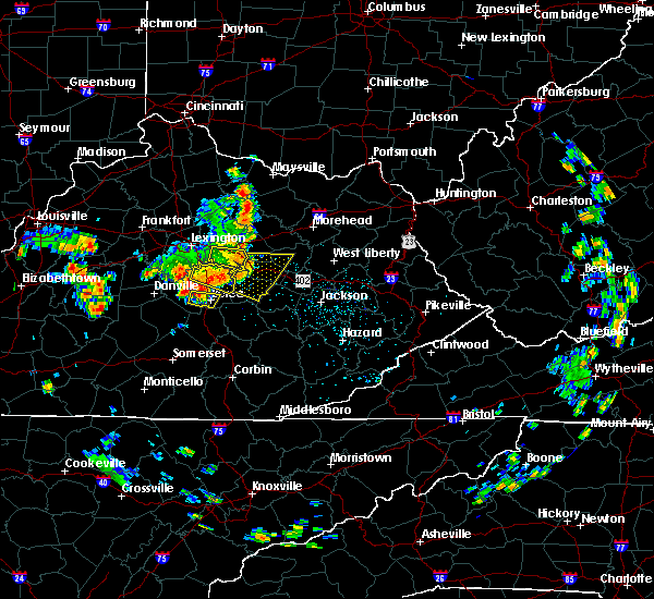 Radar Image for Severe Thunderstorms near Richmond, KY at 5/31/2018 1:01 PM EDT