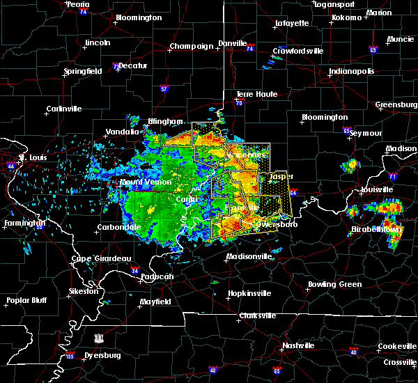 Radar Image for Severe Thunderstorms near Russellville, IL at 5/31/2018 12:04 PM CDT