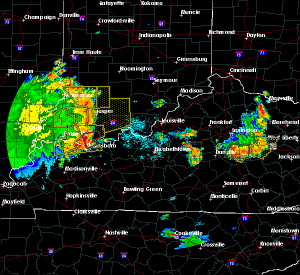Radar Image for Severe Thunderstorms near Fordsville, KY at 5/31/2018 12:19 PM CDT