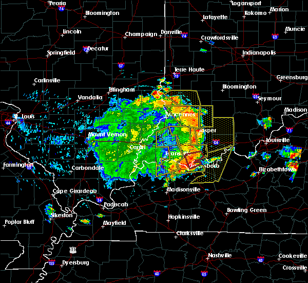 Radar Image for Severe Thunderstorms near Worthington, IN at 5/31/2018 1:22 PM EDT