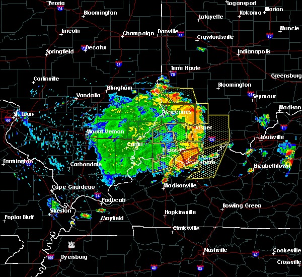 Radar Image for Severe Thunderstorms near Oaktown, IN at 5/31/2018 1:28 PM EDT