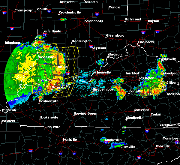 Radar Image for Severe Thunderstorms near Fordsville, KY at 5/31/2018 12:29 PM CDT