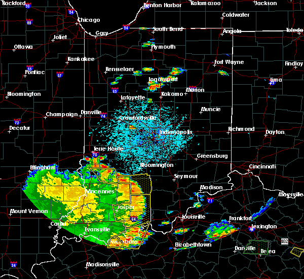 Radar Image for Severe Thunderstorms near Bedford, IN at 5/31/2018 1:49 PM EDT