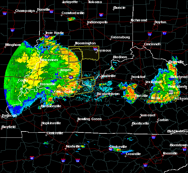Radar Image for Severe Thunderstorms near Elizabeth, IN at 5/31/2018 1:52 PM EDT