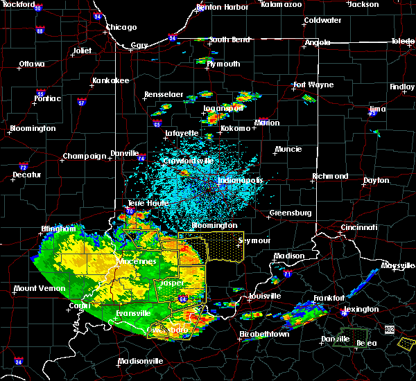 Radar Image for Severe Thunderstorms near Seymour, IN at 5/31/2018 1:53 PM EDT