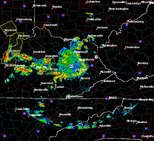 Radar Image for Severe Thunderstorms near Winchester, KY at 5/31/2018 2:39 PM EDT