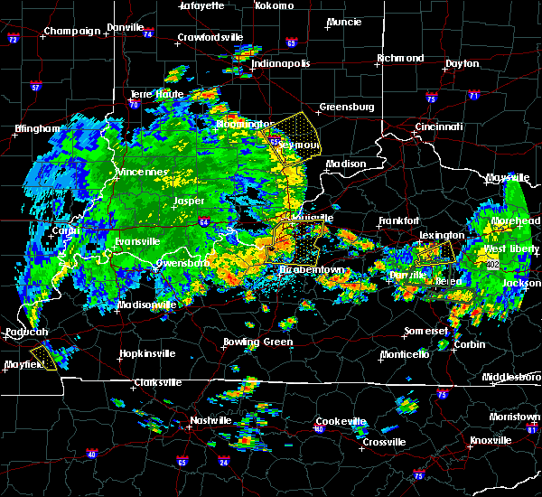 Radar Image for Severe Thunderstorms near Utica, KY at 5/31/2018 2:39 PM EDT