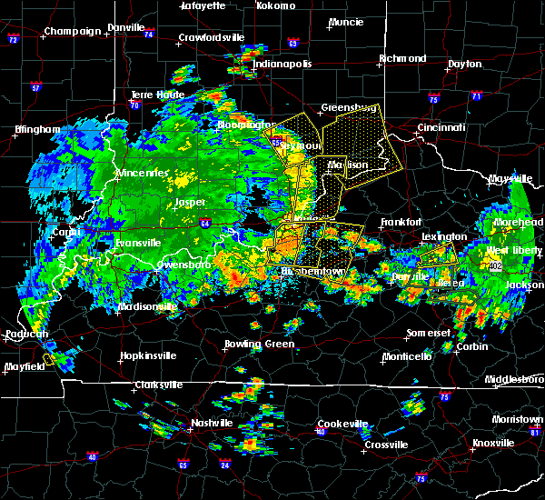 Radar Image for Severe Thunderstorms near Warsaw, KY at 5/31/2018 2:45 PM EDT