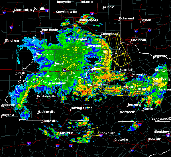 Radar Image for Severe Thunderstorms near Boston, KY at 5/31/2018 3:10 PM EDT