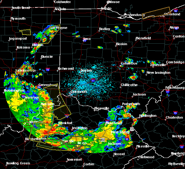 Radar Image for Severe Thunderstorms near Dayton, OH at 5/31/2018 3:16 PM EDT