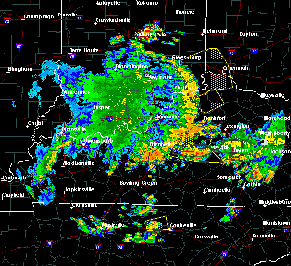 Radar Image for Severe Thunderstorms near Willisburg, KY at 5/31/2018 3:19 PM EDT