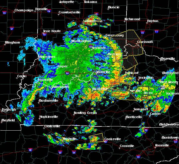 Radar Image for Severe Thunderstorms near Danville, KY at 5/31/2018 3:22 PM EDT
