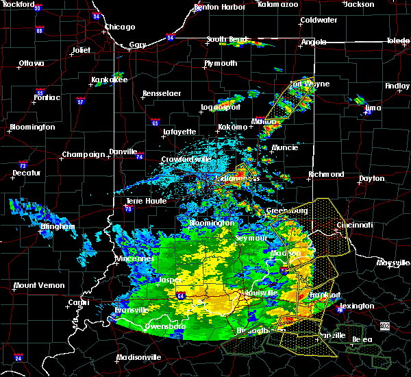 Radar Image for Severe Thunderstorms near Greenfield, IN at 5/31/2018 3:28 PM EDT