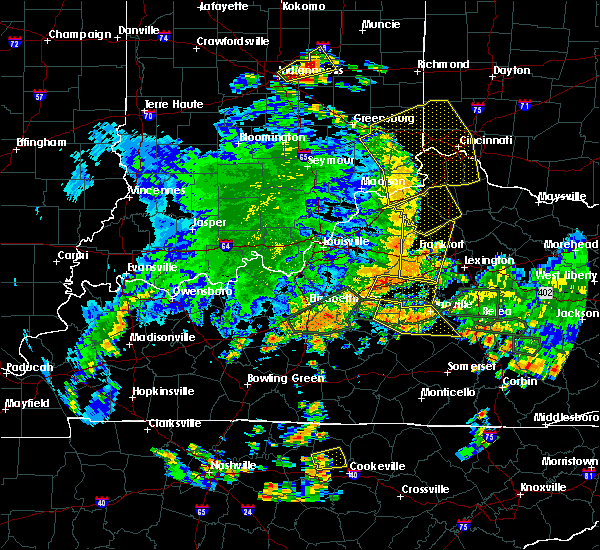 Radar Image for Severe Thunderstorms near Midway, KY at 5/31/2018 3:29 PM EDT