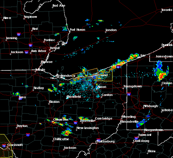 Radar Image for Severe Thunderstorms near Chesterland, OH at 5/31/2018 3:32 PM EDT