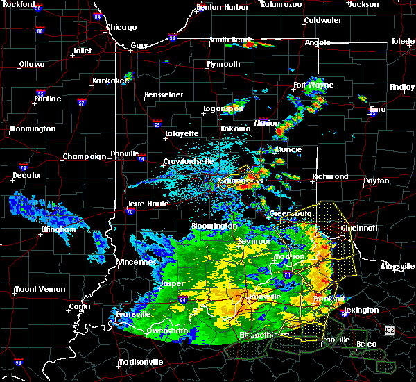 Radar Image for Severe Thunderstorms near New Palestine, IN at 5/31/2018 3:39 PM EDT