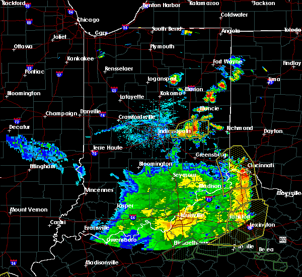 Radar Image for Severe Thunderstorms near Greenfield, IN at 5/31/2018 3:54 PM EDT