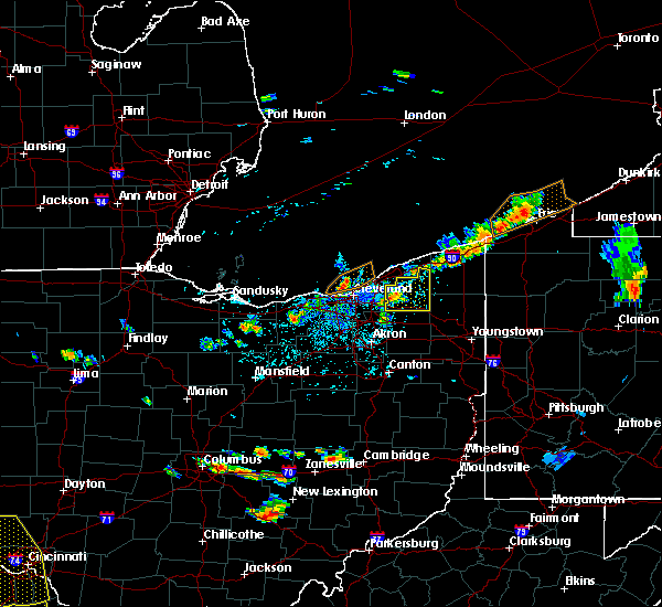 Radar Image for Severe Thunderstorms near Chesterland, OH at 5/31/2018 3:55 PM EDT