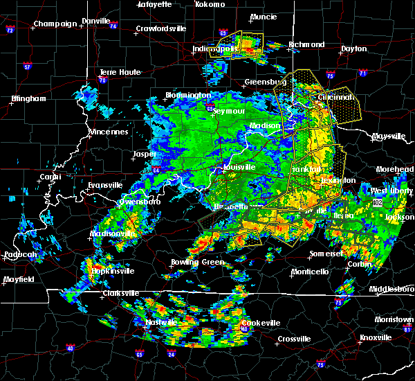 Radar Image for Severe Thunderstorms near Greensburg, KY at 5/31/2018 4:01 PM EDT