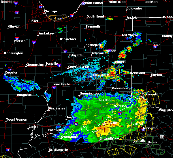 Radar Image for Severe Thunderstorms near Straughn, IN at 5/31/2018 4:04 PM EDT