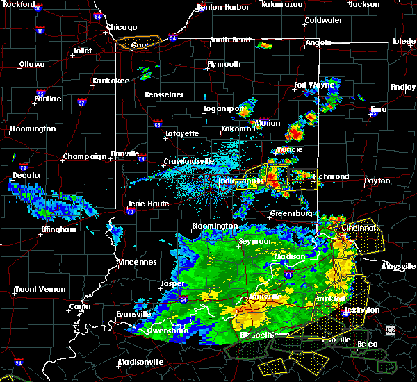 Radar Image for Severe Thunderstorms near Richmond, IN at 5/31/2018 4:07 PM EDT