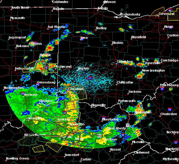 Radar Image for Severe Thunderstorms near Felicity, OH at 5/31/2018 4:10 PM EDT