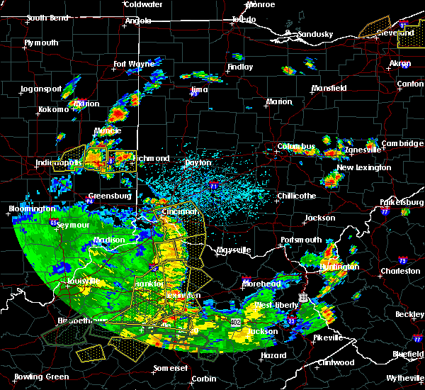 Radar Image for Severe Thunderstorms near Neville, OH at 5/31/2018 4:11 PM EDT