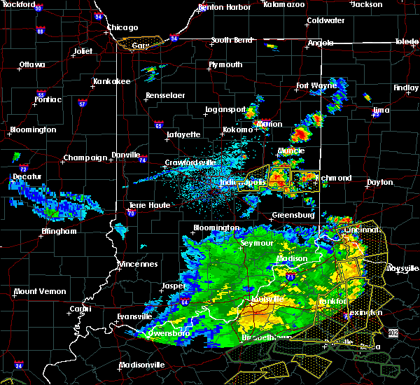 Radar Image for Severe Thunderstorms near Greenfield, IN at 5/31/2018 4:13 PM EDT
